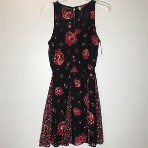 Xhilaration Sleeveless floral print dress - XS